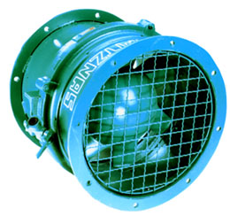 Pneumatic Axial Fans Explosion Proof On Cs Unitec Inc